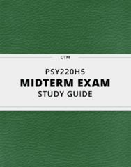 PSY220H5 Study Guide - Comprehensive Midterm Guide: Yield Sign, Confirmation Bias, Vending Machine
