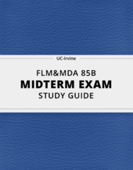 [FLM&MDA 85B] - Midterm Exam Guide - Comprehensive Notes for the exam (51 pages long!)