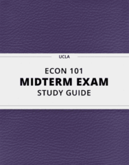 [ECON 101] - Midterm Exam Guide - Everything you need to know! (45 pages long)