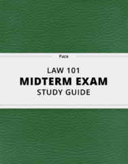 LAW 101 Study Guide - Comprehensive Midterm Guide: Appellate Jurisdiction, Federal Communications Commission, Uniform Commercial Code