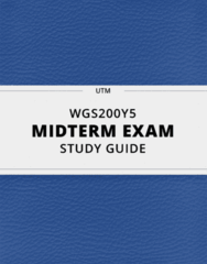 WGS200Y5 Study Guide - Comprehensive Midterm Guide: Gayle Rubin, Free-Trade Zone, Audre Lorde