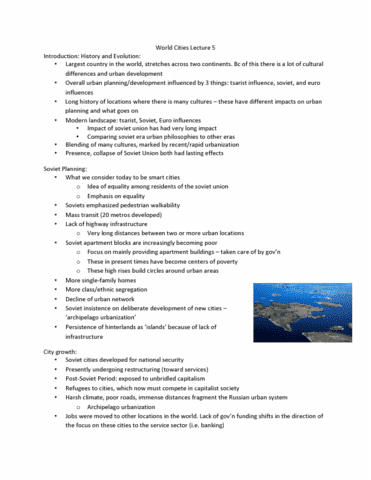 geography-2060a-b-lecture-5-world-cities-lecture-5