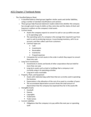 ACG 2021 Chapter 2: Chapter 2 Textbook Notes