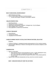 PSYC 280 Lecture Notes - Lecture 1: Jellyfish, Behavioral Neuroscience, Ontogeny