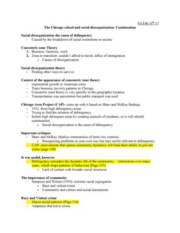 causes of social disorganization