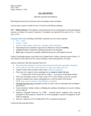 PSYC 2400 Lecture 3: LECTURE 3 - Deception