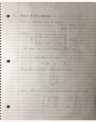 MATH 204 Lecture 3: 1.3 Matrices and Matric Operations