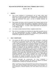 RECL 0N06 Lecture Notes - Lecture 4: California Bearing Ratio, El Otro, El Momento