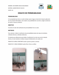 RECL 0N06 Lecture 8: Ensayo Permeabilidad