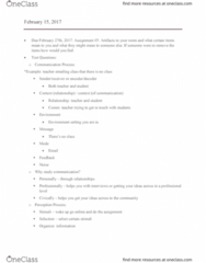 COMM 110 Lecture Notes - Lecture 8: Nonverbal Communication, Chronemics, Paralanguage