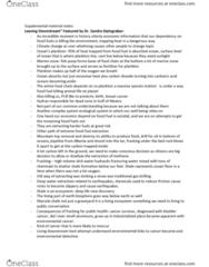 EESA10H3 Chapter Notes - Chapter 1-6: Ocean Acidification, Millennium Development Goals, Land Degradation