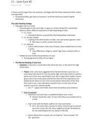 ENGL 153 Lecture Notes - Lecture 5: Thesis Statement