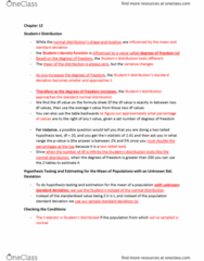 MGMT 1050 Chapter 12: CH 12 Notes