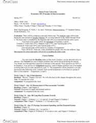 ECON 105 Lecture 1: E105co17SP