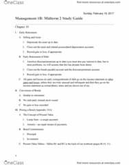 MGMT 1B Study Guide - Midterm Guide: Standard Deduction, Accrual, Retained Earnings