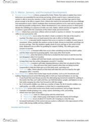 Psychology 2410A/B Chapter Notes - Chapter 5: Habituation, Dishabituation, Subjective Constancy