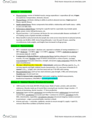 KNES 203 Study Guide - Midterm Guide: Aea, Exercise Prescription, Intramuscular Injection