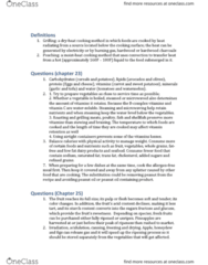 SHA HF 120 Chapter Notes - Chapter 4: Peanut Oil, Coulis, Spatula