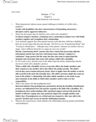 SPC 255 Chapter Notes - Chapter 6: Toilet Training, Stepfamily, Positive Behavior Support
