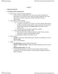 PSYC 2700 Lecture Notes - Lecture 7: Catdog, Free Recall, Endel Tulving