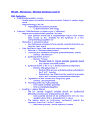 microbial genetics notes