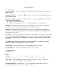 SPAN301 Study Guide - Quiz Guide: Miguel De Cervantes, Lazarillo De Tormes, Spanish Golden Age