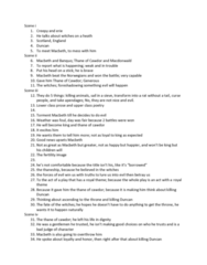 ENGL 1101 Lecture Notes - Lecture 4: Banquo, Simile, Anthropomorphism