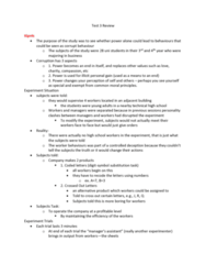 SOC361H5 Study Guide - Final Guide: Organizational Conflict, Crossed Out, Charismatic Authority