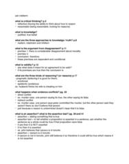 SSH 105 Midterm: march 8 - ssh midterm