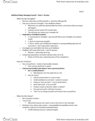 CMST 472 Lecture 7: Managing Oneself