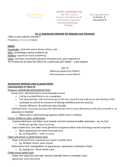Psychology 2660A/B Midterm: Week 5 and 7