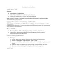RECL 1P99 Lecture Notes - Lecture 8: Kurt Lewin, Group Dynamics