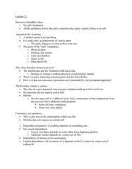 PHI 101 Lecture Notes - Lecture 12: Samkhya, Dharma, Nyaya