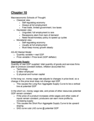 ECON 2105H Study Guide - Midterm Guide: Interest Rate, Government Spending, Durable Good