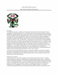 ENGL 2Q99 Lecture Notes - Lecture 8: Vivek Shraya, Exoticism, Exchangeable Random Variables