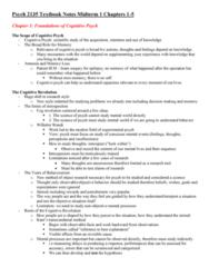 Psychology 2135A/B Study Guide - Midterm Guide: Automaticity, Cognitive Load, Bigram