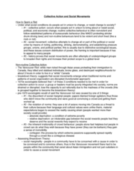 SOC 1100 Chapter Notes - Chapter 21: Winnipeg General Strike, Poverty Threshold, Resource Mobilization
