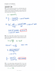 PHYSICS 7D Chapter Notes - Chapter 21: Net Force, Atomic Number, Electric Field