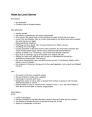 ENGL 2011 Lecture Notes - Lecture 19: Louis Sachar, Urban Legend, Anti-Realism