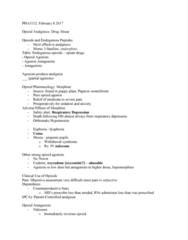 PHA 3112 Lecture Notes - Lecture 5: Hallucinogen, Bupropion, Reward System