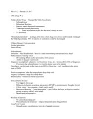 PHA 3112 Lecture Notes - Lecture 3: Buspirone, Flumazenil, Trazodone