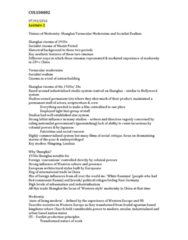 CULS30002 Lecture Notes - Lecture 2: Communist Society, Kuomintang, Empowered