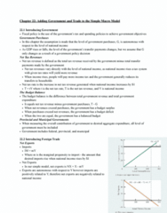 ECON 110 Chapter Notes - Chapter 22: Disposable And Discretionary Income, Autonomous Consumption, Consumption Function