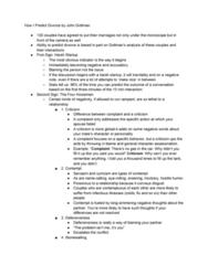 SOC 030 Lecture Notes - Lecture 21: Hypervigilance, John Gottman, Sarcasm