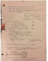 PSC 1121 Lecture Notes - Lecture 20: Ellipse