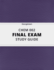 [CHEM 002] - Final Exam Guide - Ultimate 41 pages long Study Guide!