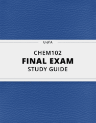 [CHEM102] - Final Exam Guide - Ultimate 71 pages long Study Guide!