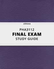 [PHA3112] - Final Exam Guide - Everything you need to know! (44 pages long)