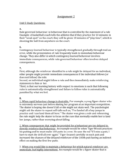 PSYC 2660 Lecture Notes - Lecture 5: Stimulus Control, Body Language, Motivation