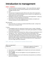 MGT10001 Chapter Notes - Chapter 1: Henry Mintzberg, Henri Fayol, Middle Management